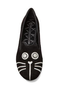 KELS KELS! so many kitty things :)... Marc Jacobs kitty slipper.