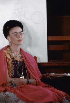Fotografías inéditas de Frida Kahlo poco antes de su muerte 10