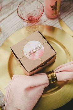 Wedding favor idea; photo: Melissa Biador