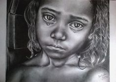 Art - Black and White Drawings - Child