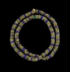 String of Millefiori Beads (41) | Corning Museum of Glass
