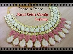 Passo a Passo #7 - Maxi Colar Candy Infinity - YouTube