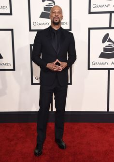 Common @ 2015 Grammy Awards Red Carpet