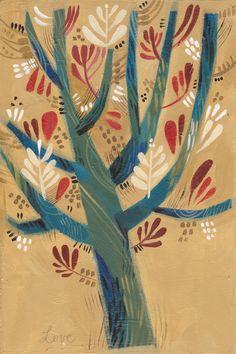 "Felicita Sala  - ""Three Trees #1"" http://www.felicitasala.blogspot.com/p/blog-page.html"
