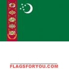 x Turkmenistan High Wind, US Made Flag National Flag, Garden Flags, 5 S, Symbols, Letters, History, Country, Historia, Rural Area