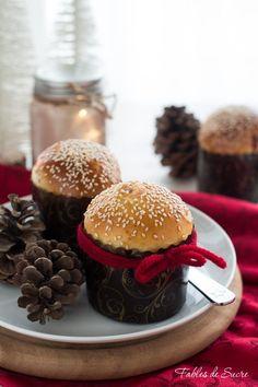 Gnocchi, Finger Foods, Hamburger, Buffet, Christmas Cakes, Christmas Recipes, Pizza, Bread, Sandwich