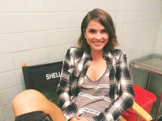 """Happy Friday! @shelleyhennig is ready for #TeenWolfSeason5...ARE YOU?! """