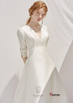 The classic A line dress is one of the wedding gowns. Of all the bridal gown on the market today A line wedding gowns are the best. Handmade Wedding Dresses, Western Wedding Dresses, Wedding Suits, Bridal Dresses, Wedding Gowns, Minimal Wedding Dress, 2 Piece Wedding Dress, Perfect Wedding Dress, Lolita