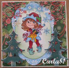 Carla's kaarten: Kerst