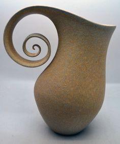 Adrian Bates - White Stoneware Vessel
