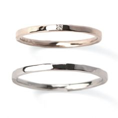結婚指輪・ジュエリー SIENA - Bridal | 【New】 KANAERU 叶える/平打ち(最細)