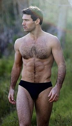 Hot hairy stud.