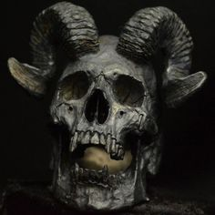 Into The Fire Jewelry - Skull ring Horned Beast silver mens skull biker masonic rock n roll gothic handmade jewelry etsy Vampire Skull, Vampire Tattoo, Beast, Skull Reference, Totenkopf Tattoos, Silver Skull Ring, Skull Rings, Into The Fire, Rock Jewelry