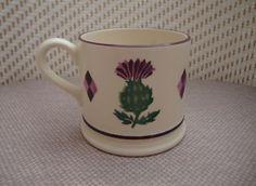 Emma Bridgewater Thistle SAMPLE Baby Mug dated 2003