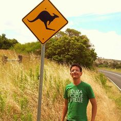 TBT| 2011 - did I want to steal this sign?yes. Road trip to the 12 apostles thru the great ocean road. Lots of signs but no kangaroos   #melbourne #australia #victoria #downunder #ozzylife #stpaulscathedral #architecture #mochileiros #backpacking #lonelyplanet #hostelworld #aroundtheworld #ontheroad #penaestrada #gayboy #tbt #2011 #12apostles #greatoceanroad #kangaroo #roadsigns #roadtrip by tito_faria http://ift.tt/1ijk11S