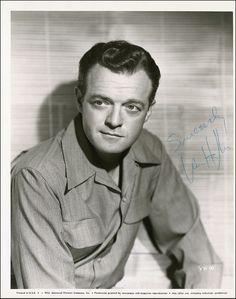 """Van Heflin ...  appeared in """"The Strange Love of Martha Ivers,"""" """"Green Dolphin Street,"""" """"Shane,"""" """"Santa Fe Trail.""""  Won a Best Supporting Actor Oscar for """"Johnny Eager."""""""