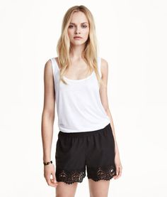 Jersey Tank Top | Product Detail | H&M