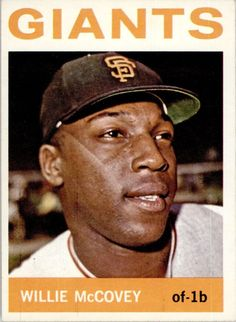 1964 Topps Willie McCovey