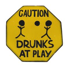 BEER WINE BOOZE SEX CAUTION DRUNKS PLAY FUNNY SIGN POOL TIKI BAR TROPICAL ISLAND #Handmade #Tropical