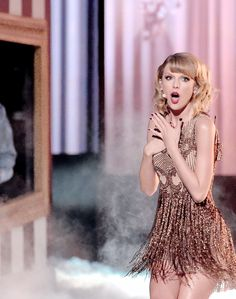 "youshouldvesaidnobaby: "" taylor swift performs ""blank space"" at the 2014 american music awards """