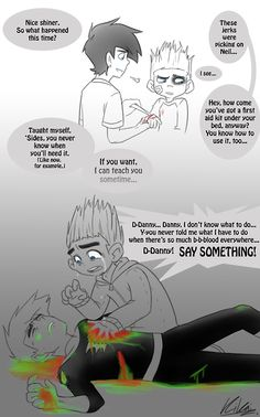 This is amazing and sad at the same time! Danny Phantom and ParaNorman crossover