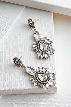 Versona mixed stone statement earrings #Versona