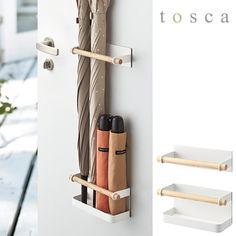 Umbrella stand fashionable magnet storage Slim magnet umbrella stand tosca Tosca white