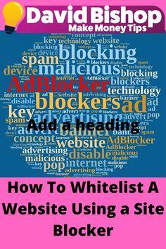 Website Blocker, Internet Ads, Website Promotion, Website Security, Cyber Attack, Building A Website, Money Tips, Online Business, How To Make Money
