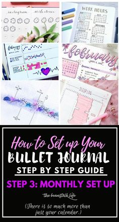 I have been waiting for you to get here! I have been so excited to get to this step in my How to Bullet Journal Step by Step Guide because we are now getting into the MEAT of why bullet journaling … Bullet Journal Tracker, Bullet Journal Printables, Bullet Journal How To Start A, Bullet Journal Spread, Bullet Journal Layout, Bullet Journal Inspiration, Bullet Journals, Journal Ideas, Journal Prompts