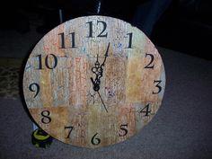 my DIY clock!! :)