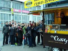 Spontanes Firmenevent #oscurry #catering #event #currywurst #foodtruck #partyservice #mieten