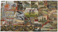 """50 Years Soviet Union (""""50 Jaar Soviet-Unie"""")   Willem van Genk (Dutch, 1927-2005) Outsider Art, 1967"""