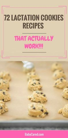 Delicious Lactation Cookies Recipes That Actually Work | Lactation Cookies Recipe | Increase Breastmilk Supply Fast | https://babycared.com/lactation-cookies-recipes/
