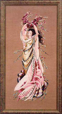 Rose Celebration (MD23) From Mirabilia Design - Nora Corbett - Cross Stitch Charts - Embroidery - Casa Cenina