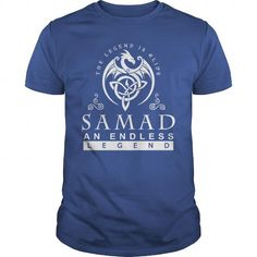 I Love SAMAD The Legend is Alive an Endless Legend T shirts