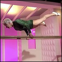 86 Year-Old Gymnast Has AMAZING Skills and Strength - my new goal is to be able to do that at her age!!