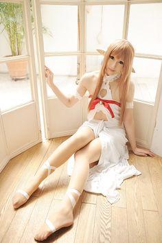sword art online asuna cosplay