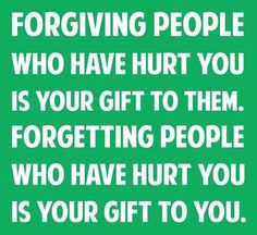 Forgiving People Who Have Hurt You