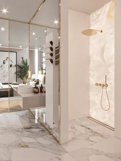 Luxury Bathroom Master Baths Marble Counters is definitely important for your home. Whether you choose the Luxury Bathroom Master Baths Photo Galleries or Luxury Bathroom Ideas, you will make the best Interior Design Ideas Bathroom for your own life. Elegant Interior Design, Home Interior Design, House Interior, Elegant Interiors, Interior, Bathroom Design, Luxury Interior, Luxury Bathroom Master Baths, Bathroom Remodel Master