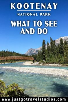 Kootenay National Park - What to See and Do Yoho National Park, National Parks, Canada Website, Park Lodge, Parks Canada, Canadian Rockies, Picnic Area, Day Hike, Canada Travel