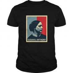 Awesome Tee Susan B. Anthony T-Shirt Feminist T shirts