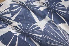 Daintree Fan Palm in Bluestone and Storm