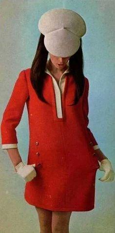 53 Ideas dress vintage for 2019 Sixties Fashion, 60 Fashion, Fashion History, Fashion Photo, Retro Fashion, Vintage Fashion, Womens Fashion, Fashion Design, Robes Vintage