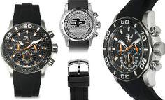32 Degrees Men's Polar Chronograph Watch