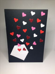 Make-Up Art-Valentinstag - Gif Life Valentines Day Cards Handmade, Valentine Crafts For Kids, Handmade Birthday Cards, Valentines Diy, Greeting Cards Handmade, Paper Cards, Diy Cards, Birthday Card Drawing, Valentine's Day Diy
