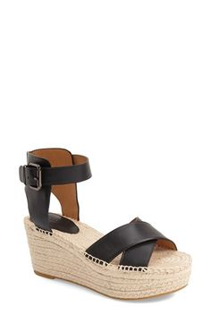 COACH 'Primrose' Espadrille Platform Sandal (Women). #coach #shoes #sandals