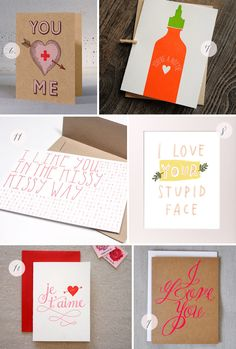 Seasonal Stationery: Valentine's Day Card Round Up via Oh So Beautiful Paper (1)
