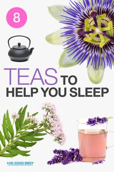 Herbal Tea has been scientifically proven to reduce anxiety and consequently, help us to achieve that good quality slumber we all so deserve. Here are our top eight teas, all backed-up with research, that will improve your sleep. Healthy Mind And Body, How To Stay Healthy, Healthy Sleep, Health Facts, Health Tips, Health Benefits, Wellness Tips, Health And Wellness, Sleep Better Tips