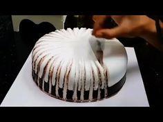 Step by Step Birthday Cake Design Tutorial! Cake Decorating Step by Step Birthday Cake Design Cake Decorating Videos, Birthday Cake Decorating, Cake Decorating Techniques, Cake Birthday, Decorating Ideas, Cake Design Tutorial, Food Cakes, Cupcake Cakes, Cupcakes