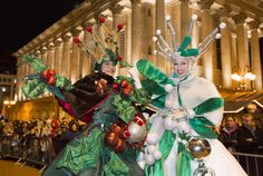 Birmingham Christmas Parade 2013 by Birmingham Culture from www.FlamingFun.com or call 07788732552